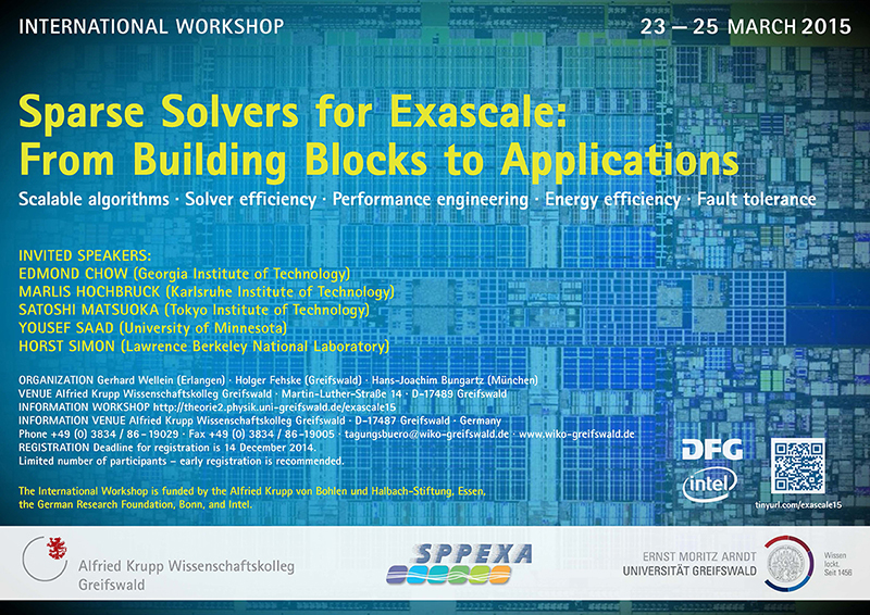 Sparse Solvers for Exascale: From Building Blocks to Applications