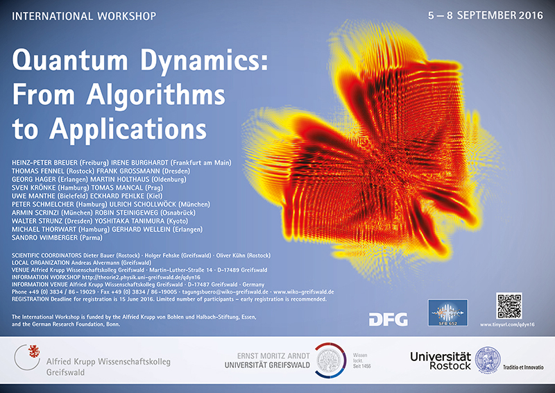 Quantum Dynamics: From Algorithms to Applications